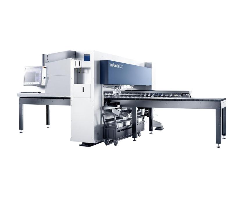 CNC Punching Machines | Lister Machine Tools Ireland